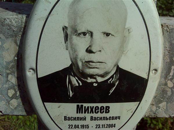 Мемориал - Михеев Василий Васильевич : Международная система поминовения усопших
